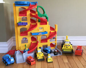 Little People and Bob the Builder Toy Lot