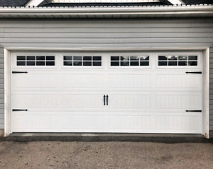 16x7 INSULATED CARRIAGE GARAGE DOORS..... $1600 INSTALLED