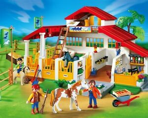 playmobil centre questre curie chevaux