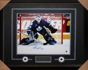 Felix Potvin signed autograph Toronto Maple Leafs frame