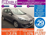2012 RENAULT GRAND SCENIC 1.5 DCI DYNAMIQUE GOOD BAD CREDIT CAR FINANCE AVAIL