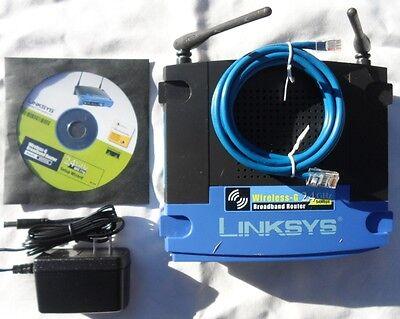 Linksys WRT54G V8  Wireless broadband Repeater Bridge range extender DD-WRT WIFI