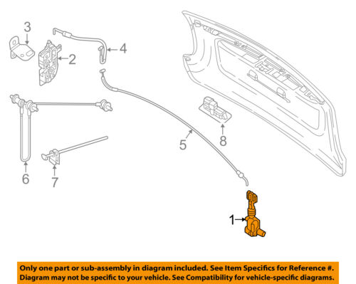 SMART OEM Fortwo Tail Gate Tailgate Hatch-Handle Outside Exterior 4517470187