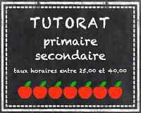 Tutorat Primaire Secondaire