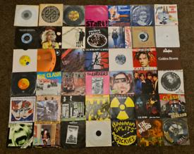 """Various 7"""" punk vinyl"""