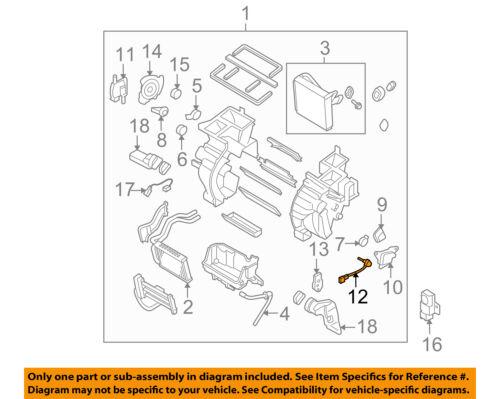 FORD OEM 14-18 Fiesta 1.6L-L4 Evaporator Heater-Adjust Motor AV1Z19E616K