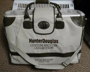 Shutters shop in home bag. Hunter Douglas Shade O Matic