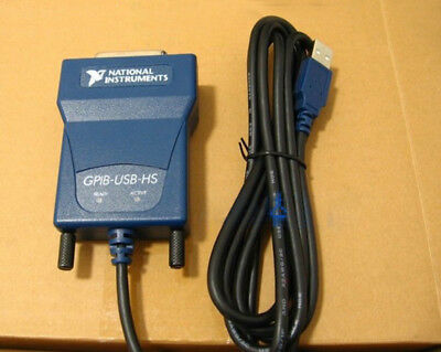 Ni Gpib-usb-hs Card 778927-01 Usb Gpib Data Acquisition Cable Ieee488