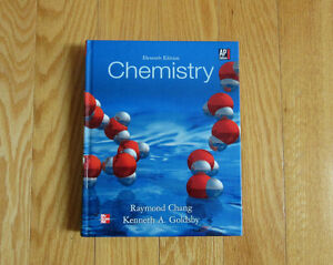 AP TEXTBOOK ---- CHEMISTRY: AP EDITION (2013) ISBN :978007661998