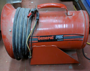 General EP8DC Non-Hazardous Location Electric Blower 12VDC