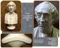 Original Sir John A. MacDonald Ceramic Bust c1890