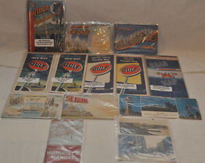 Lot of old paper maps and postcards Kitchener / Waterloo Kitchener Area image 4