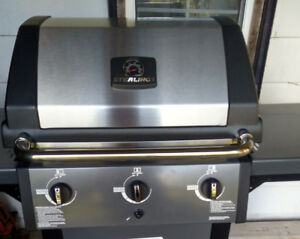 Sterling BBQ. Never used.  Already assembled.