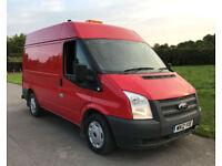 2012 Ford Transit 2.2TDCi 125PS EU5 280S SWB M/R Medium Roof Van *81,400 Miles*