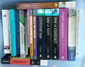Law Degree Books