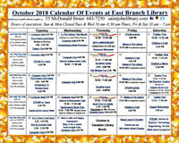 East Branch Public Library - October Events