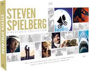 Coffret Steven Spielberg une Édition Limitée Blu-Ray