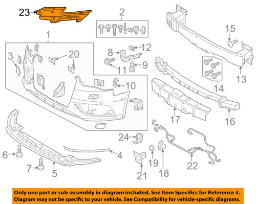 AUDI OEM 17-18 A3 Front Bumper Grille Grill-End Plate Right 8V5807320