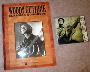 Woody Guthrie Songbook and CD/DVD set
