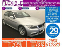 2010 BMW 320D 2.0 TD M-SPORT GOOD / BAD CREDIT CAR FINANCE AVAILABLE
