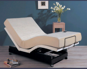 Electric adjustable bed like new