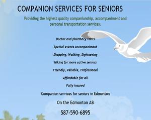 Companion Services for seniors