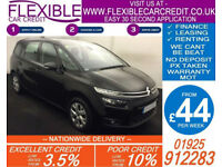 2014 CITROEN C4 GRAND PICASSO 1.6 E-HDI VTR+ GOOD / BAD CREDIT CAR FINANCE AVAIL