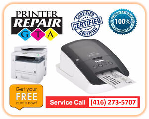 Label Printer Service and Maintenance in Greater Toronto Area