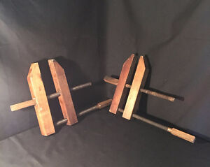 Antique Wooden Clamps