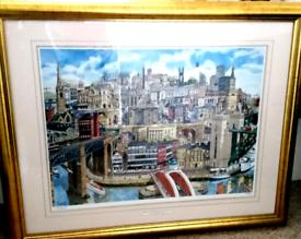 Superb Signed Framed Limited Edition Print. Martin Stuart Moore