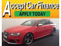 Audi RS4 Avant quattro FROM £160 PER WEEK!