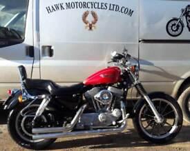 SUPERB 2000 HARLEY DAVIDSON XLH883 HUGGER, GREAT CONDITION, 22336 MILES