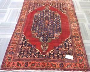 Bidjar Handmade Persian Rug 7'2''x4'9''