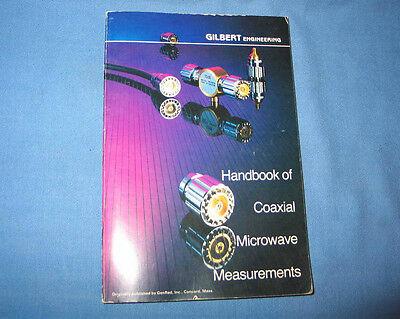 Handbook Of Coaxial Microwave Measurements 1968 Gilbert General Radio Genrad