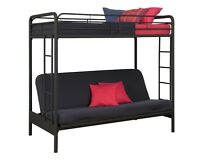 FUTON BUNKBED. One year old. BRAND NEW CONDITION