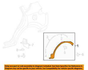 TOYOTA OEM 13-15 RAV4 Exterior-Wheel Opening Molding and other