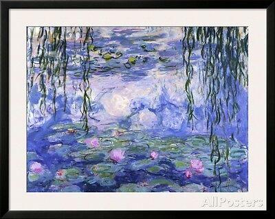 Water Lilies (Nympheas), c.1916 Framed Art Print By Claude Monet - 39x31