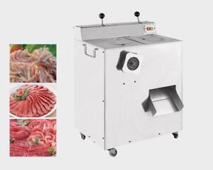 220V  Electric Meat Grinder And Slicer Mincer Meat Grinder Cutter Slicer Machine#170622