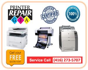 Onsite Samsung Printer Repair Service in Greater Toronto Area
