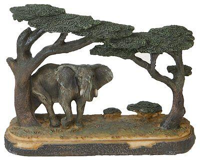 Elefant Deko Figur Safari Afrika Wild Life Dekoration Diorama Sammler WILD011