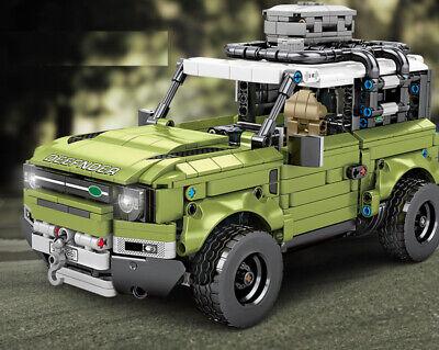 1286PCS MOC Technic Land Rover Defender Car Building Block Toy Model Brick New