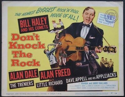 DON'T KNOCK THE ROCK BILL HALEY 1957 TC