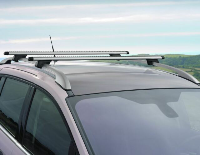 Ford Grand C-Max 04/15> Genuine Roof Bars / Roof Rack- Vehicle with Roof Raiils