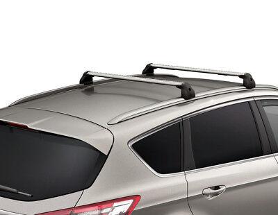 Aluminium Dachträger EBA für Ford S-Max Typ WA6 komplett inkl Menabo Tema