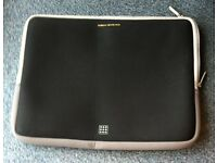 TUCANO NOTEBOOK/LAPTOP, SECOND SKIN PROTECTOR, BLACK WITH GREY TRIM