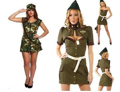 ARMY NAVY AIR FORCE MARINES SOLDIER MILITARY FANCY DRESS COSTUME GI JOE