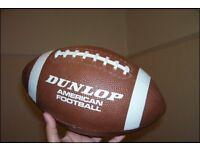 AMERICAN FOOTBALL (THROWING AND CATCHING)