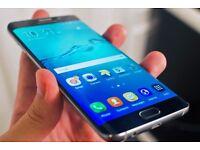 Samsung Galaxy S7 Edge in black boxed.....Brand new