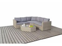 Rattan Garden Furniture Rural Angle Corner Free Delivery
