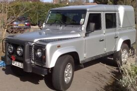RARE - Barn find rare Land Rover Defender Double Cab 'Silver' Limited Edition